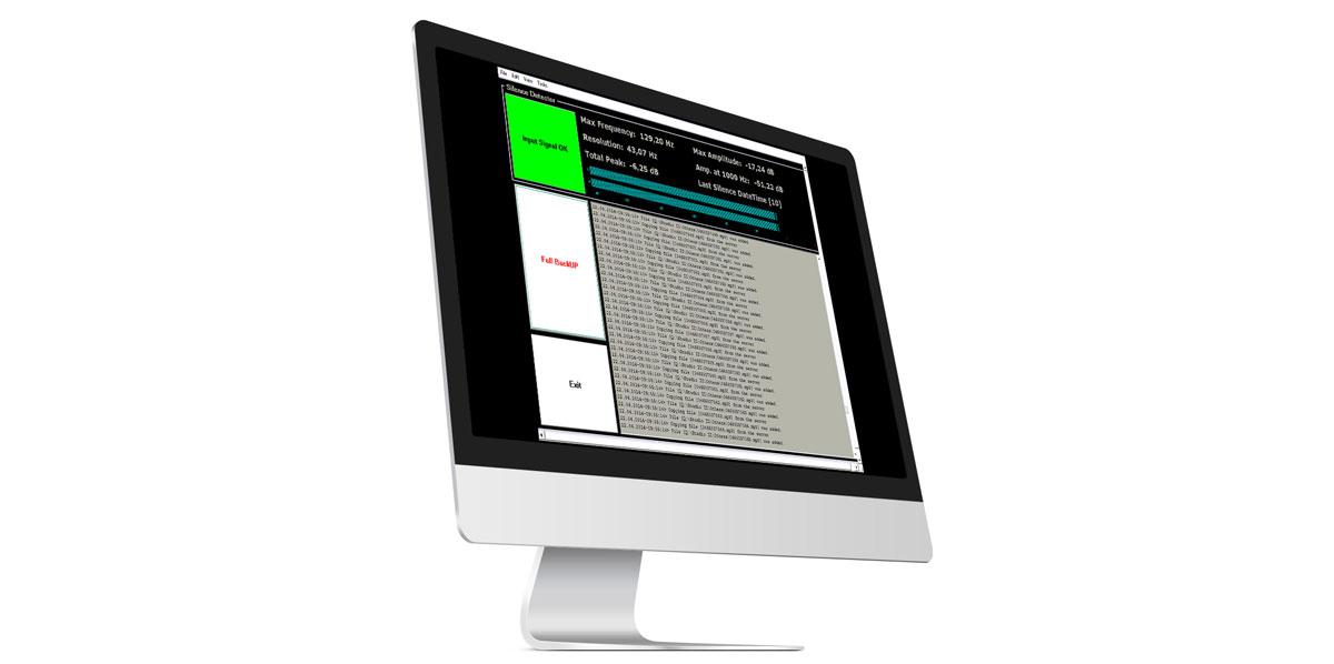 Software backup pentru fisiserele audio din timpul emisiei radio
