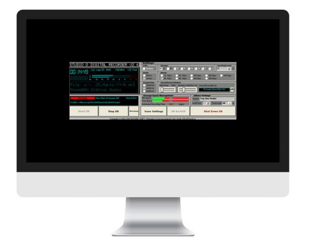 Digital Recorder - optiune software radio